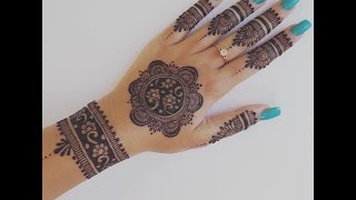 Download Easy Henna Design for Your Hands Video