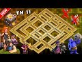 Download TH11 War Base 2018 Anti 1 Star/Anti 2 Star With Replay Anti Bowler Anti Miner Anti Everything Video