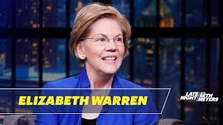 Download Sen. Elizabeth Warren Talks Julian Castro's Endorsement, Kate McKinnon and Calling Donors Video