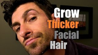 Download How To Grow Thicker Facial Hair | Can You Stimulate Facial Hair Growth? Video