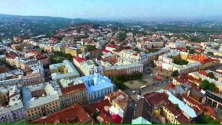 Download Ukraine trip chernivtsi Drone footage Video
