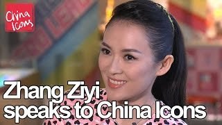 Download Zhang Ziyi, speaks to China Icons - China Icons video Video