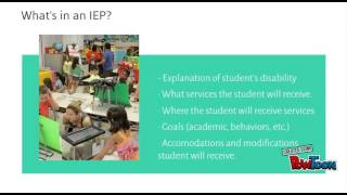 Download What is an IEP? Video