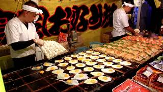 Download その場でファンが出来るお好み焼き屋さん 2017年 職人芸 Street Food Japan okonomiyaki Video
