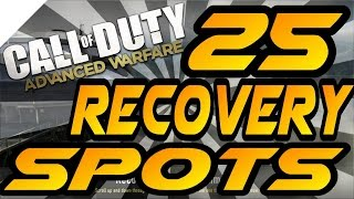 Download 25 Recovery Spots & Glitches! - Advanced Warfare (Jumps, Hiding & Infected Spots After Patch) Video
