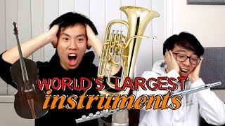 Download The World's Largest (and most IMPRACTICAL) Music Instruments Video