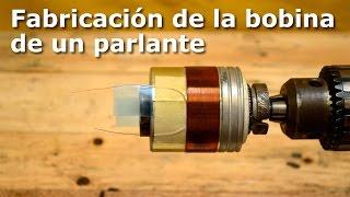 Download Fabricación de la bobina de un parlante (make voice coil) Video