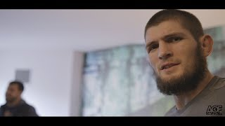 Download Classic Scene: Khabib Nurmagomedov finds out he fighting Al Iaquinta for UFC Lightweight title Video