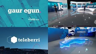 Download Gaur Egun (ETB 1) - Teleberri (ETB 2) - Nuevo plató e imagen (09.09.2019) Video