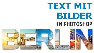 Download Text mit Bild hinterlegen in Photoshop Video