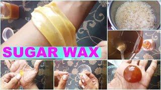 Download How To Make Sugar Wax At Home | Natural Hair Removal At Home | Sugar Wax Live Demonstration Video