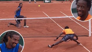 Download The Tennis Match That Turned Into a Circus Show | Gael Monfils VS. Dustin Brown Video