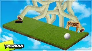 Download HARDEST HOLE IN ONE SHORTCUTS! (Golf It) Video