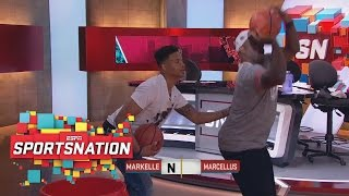 Download Markelle Fultz Goes One-On-One With Marcellus Wiley | SportsNation | ESPN Video