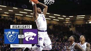 Download Georgia State vs. No. 25 Kansas State Basketball Highlights (2018-19) | Stadium Video