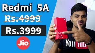 Download Redmi 5A at Rs.4999? or Rs.3999 ? JIO offer | Tamil Tech OPINION Video