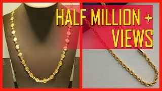 Download 10 Gram Gold Chain Designs With Price Video