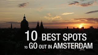 Download 10 Best Spots To Go Out In Amsterdam Video