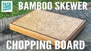 Download Making a Chopping Board from Bamboo Skewers Video