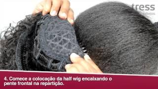 Download Como colocar a half wig / meia peruca - Tress Cabelos Video
