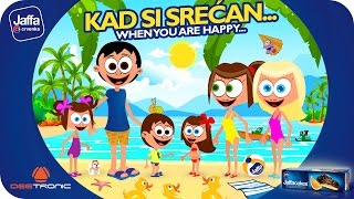 Download Kad si srećan (If You're Happy and You Know It) Nursery Rhymes for Kids powered by Jaffa Video