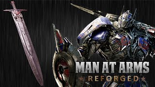 Download Optimus Prime's Sword -Transformers: The Last Knight - MAN AT ARMS Video