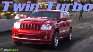 Download 9-Second Twin Turbo SRT-8 Grand Cherokee is a SAVAGE Video