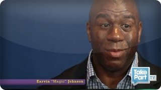 Download EXCLUSIVE: Magic Johnson Talks HIV/AIDS Truth to Teens ⎢TakePart TV Video
