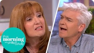Download Holly Is Shocked at Guest's Notion That Short Skirts Lead to Sexual Assault   This Morning Video