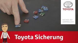 Download Die Sicherung und der Sicherungskasten bei Toyota   Dirk erklärt's Video