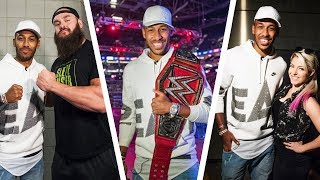 Download Aubameyang as WWE Universal champion?! Video