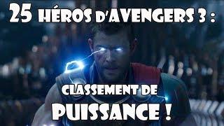 Download Avengers 3 Infinity War : classement des 25 héros ! Video