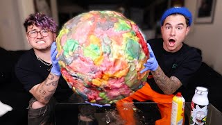 Download We Made The Worlds Largest Chewed Gum-Ball Video
