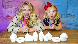 Download 3 Marker Make Your Own Squishy Toy Challenge!!! Video