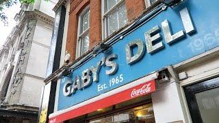 Download Gaby's Deli London - Best Falafel + Salt Beef Bagels in London ? Video