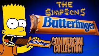Download The Simpsons - Butterfinger Commercial Collection (1989 - 2001) Video