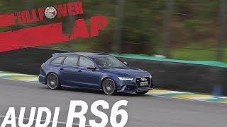 Download Audi RS6 Performance no FULLPOWER LAP: station monstruoso, V8 biturbo, em Interlagos (SP) Video