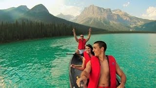 Download Canada from side-to-side - Banff, Ouest Canadien, Alberta [GoPro 720p] Video