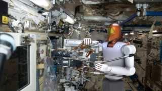 Download Space Station Live: Robonaut, the Humanoid Robot Video