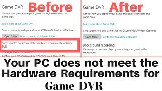 Download How to Remove Hardware Requirement in Xbox Game Dvr !! Video