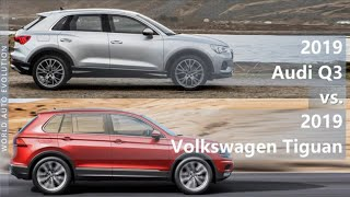 Download 2019 Audi Q3 vs 2019 Volkswagen Tiguan (technical comparison) Video