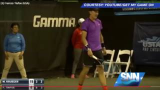 Download SNN:Love Making Interrupts Sarasota Open Tennis Match Video