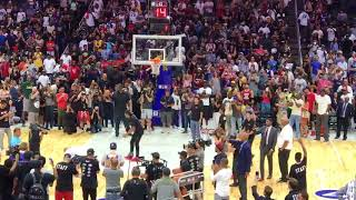 Download Ice Cube beats LaVar Ball at BIG3 4-point challenge Video