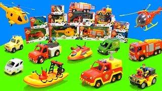 Download Feuerwehrmann Sam: Alle Feuerwehrautos der Pontypandy Feuerwehr   Spielzeug Unboxing Kinderfilm Video