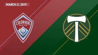 Download HIGHLIGHTS: Colorado Rapids vs. Portland Timbers | March 2, 2019 Video