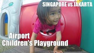 Download Children playground Changi Airport Singapore vs Terminal 3 Jakarta by Lifia Niala Video