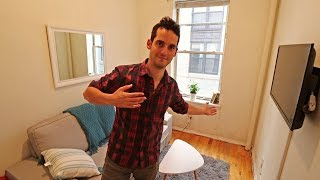 Download My TINY NYC Apartment Tour ! (350 Sq Ft in Greenwich Village, Manhattan) Part 2 Video