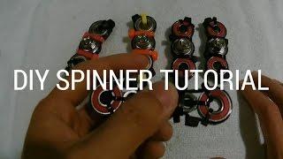 Download $1 DIY HAND SPINNER BAR FIDGET TOY (NOT 3D Printed!) Video