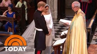 Download Royal Wedding: Prince Harry, Meghan Markle Exchange Vows | TODAY Video