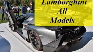 Download Lamborghini All Models From Beginning (1964-2016) Video
